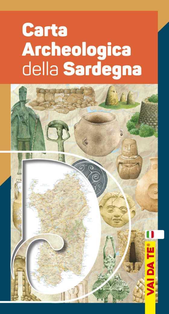 Cartina Archeologica Sardegna.Carta Archeologica Della Sardegna Carlo Delfino Editore