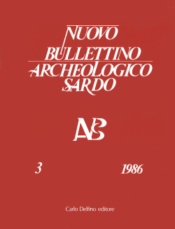 Nuovo Bullettino Archeologico Sardo, Vol. III (1986)